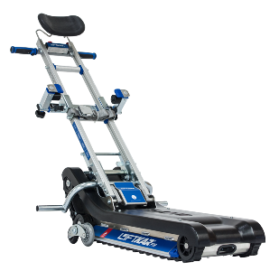 Ptr track based wheelchair stairclimber for Motorized wheelchair stair climber